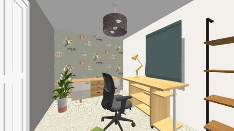 Siobhan Bamber - Office  - by homedesigncardiff