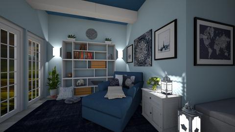 Blue Hideaway - by RettaLynn