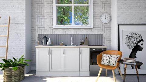 Simple Country Kitchen - Kitchen  - by GinnyGranger394