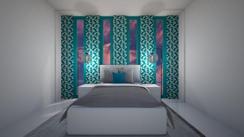 Minimalist bedroom  - Modern - Bedroom  - by rona123