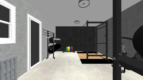 My little garden gym - by rogue_18d7cc74ff185e038ae78ddd713b9