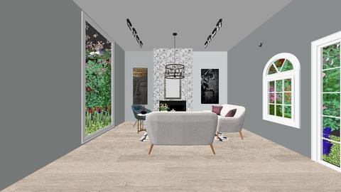 Living Room - Modern - Living room  - by A7medohbaldy