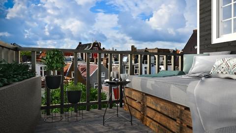 Morning Coffee in Amsterdam - by MandyB84
