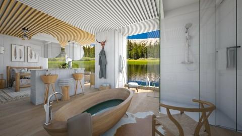 Hidden Mtn retreat - Bathroom  - by Lackew