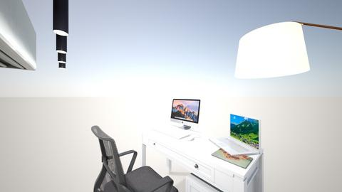 minimal design home offic - Minimal - Office  - by Mohit Rawat