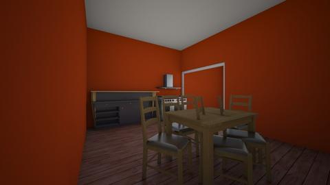 Desert room - Country - Dining room  - by Johnny Jangula