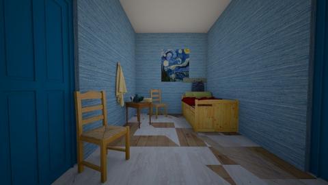 Vincent Van Gogh Bedroom - Bedroom  - by blackpink_fan8150