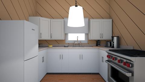 kitchen for int design - Kitchen  - by abe_kinnie