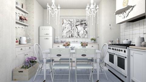 shabby kitchen - Kitchen  - by Charipis home