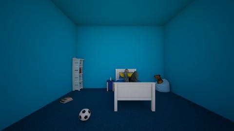 blue room - Kids room  - by lex faye