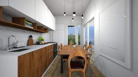 Casa392Kitchen - Modern - Kitchen - by nickynunes