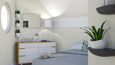 Naturalistic - Bedroom - by lovedae_parfait