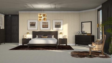 481 - Modern - Bedroom  - by Claudia Correia