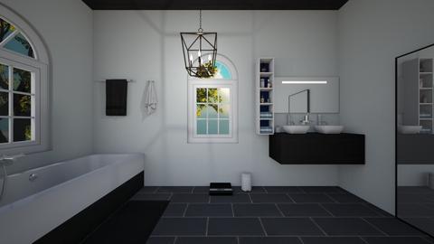 modern bathroom - Modern - Bathroom  - by Roomplaner321