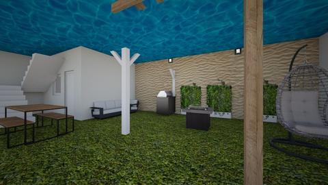 patio - Modern - Living room  - by yuki13