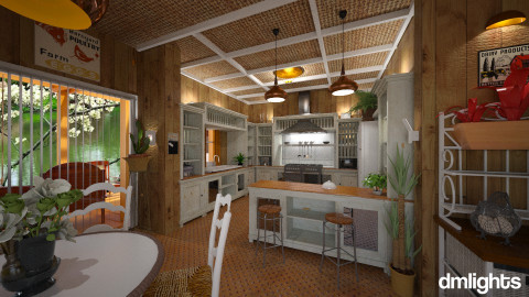 georgiaX - Country - Kitchen  - by DMLights-user-981898