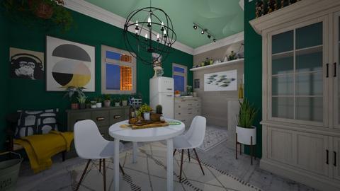 Apartment Kitchen - Minimal - Kitchen  - by Jodie Scalf