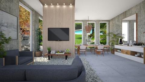 bittencourt mansion - Living room  - by diegobbf