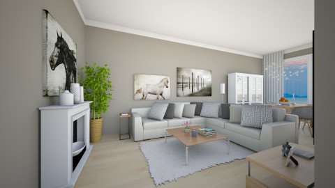 LR for Alma3 - Modern - Living room  - by channing4
