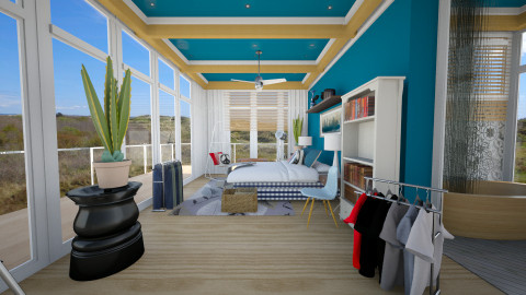 hasten bedroom 5 - Modern - Bedroom  - by Evangeline_The_Unicorn