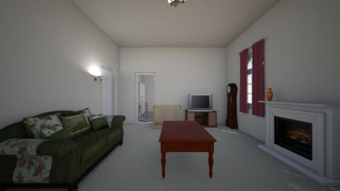 Railroad Apartment - Living room  - by WestVirginiaRebel