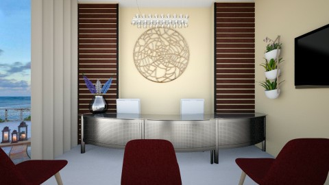 Reception - Office - by Artisan617