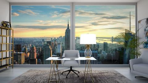 NY office - Modern - Office  - by veroval