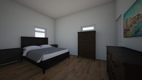 Master Bedroom - Minimal - by Morganlovejoy95