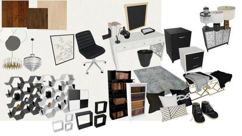 Black And White Office - by Mayflower13