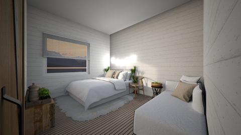 Bedroom_Contest_KittyT6 - Rustic - Bedroom  - by KittyT6