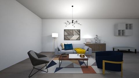 Living room_Laura1 - Modern - Living room  - by Bedrica