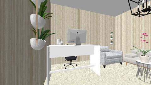 Layout kantor - Minimal - by lelahester rina