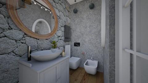 Cologno M bathroom 1e - Bathroom - by natanibelung