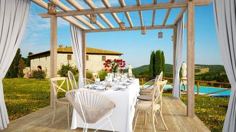 Tuscany - Garden - by seth96