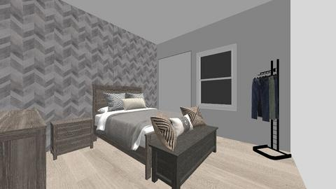 bedroom 2 - Modern - Bedroom  - by Estefany Garcia