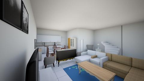 bare living - Living room  - by saiko_sid