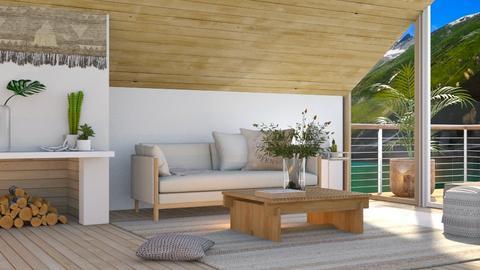 lake_contest_FURFUR - Living room  - by FURFUR