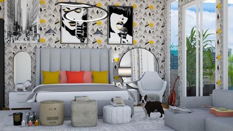 Maximalism bedroom - by Aymee Estrella