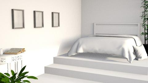 Modern Shabby Chic - Bedroom  - by designkitty31