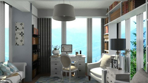 Calm Seas Library - Office  - by smccauley029