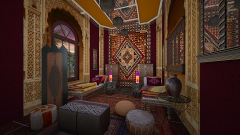 morrocan bed - Eclectic - by Alexandra amyra