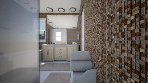 Sunken Shower - Bathroom  - by SammyJPili