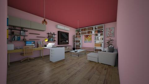 Office - Modern - Living room  - by chuchu1013