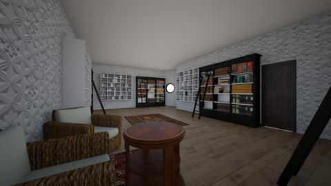 the incredable library - Office  - by Moonwatcher the dragon alpha
