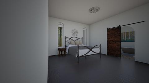 secesja - Bedroom  - by Marta Perkowska