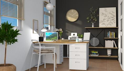 Small Home Office - Office  - by r e c k l e s s