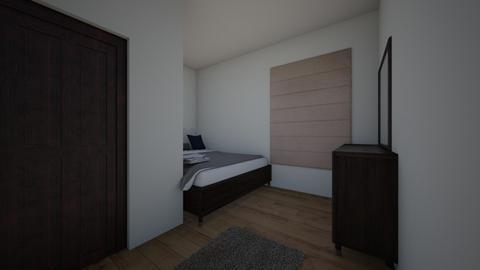 MODERN BEDROOM - Bedroom  - by horse4ever