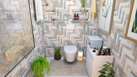 toilet - by wijesinghe