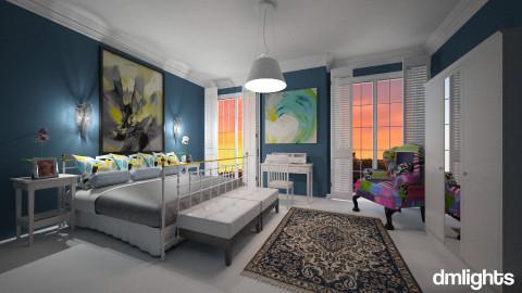 Por do sol em Paris - Bedroom  - by Roberta Bela