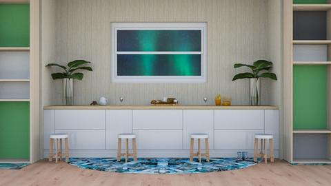 Beach Living - Kitchen  - by Nantha